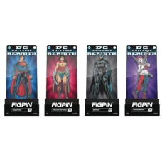FIGPIN DC COMICS REBIRTH FIGURE PIN 6PC ASST