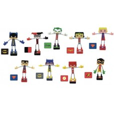 KAWAII CUBES DC COMICS POSERS MAGNETIC MINI FIG 36PC BMB DS