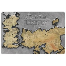 GAME OF THRONES WESTEROS MAP METAL WALL DECOR