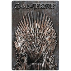 GAME OF THRONES 3D THRONE METAL WALL DECOR