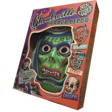GHOULSVILLE ASTRO ZOMBIE GID VAC-TASTIC PLASTIC MASK