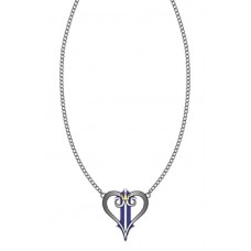 DISNEY KINGDOM HEARTS LOGO NECKLACE