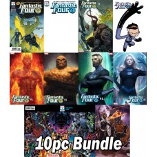 FANTASTIC FOUR #1 REG & VARIANT 10 PC SET BUNDLE