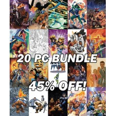 RETURN OF THE FANTASTIC FOUR VARIANT 20 PC SET BUNDLE
