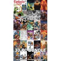 FANTASTIC FOUR #1 REG VARIANTS & FACSIMILE 30 PC SET BUNDLE