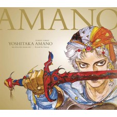 YOSHITAKA AMANO THE ILLUSTRATED BIOGRAPHY HC BEYOND THE FANT