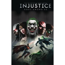 INJUSTICE GODS AMONG US YEAR ONE DELUXE ED HC BOOK 01