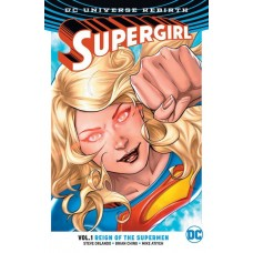 SUPERGIRL TP VOL 01 REIGN OT CYBORG SUPERMEN (REBIRTH)