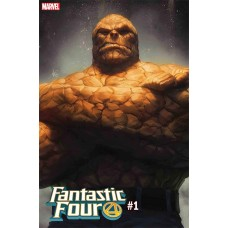 FANTASTIC FOUR #1 ARTGERM THING VARIANT