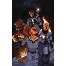 TONY STARK IRON MAN #3 HUGHES RETURN OF FANTASTIC FOUR VARIANT