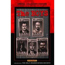 BOYS HC VOL 06 SELF-PRESERVATION SOCIETY LTD SGN ED (MR)
