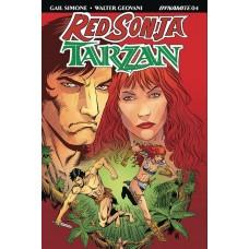 RED SONJA TARZAN #4 CVR B GEOVANI