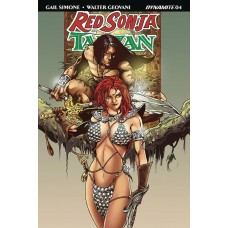 RED SONJA TARZAN #4 CVR D CASTRO SUBSCRIPTION