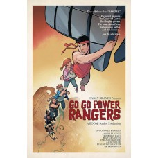 GO GO POWER RANGERS #12 SUBSCRIPTION MOK VARIANT SG