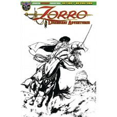 ZORRO LEGENDARY ADVENTURES #1 BLAZING BLADES OF ZORRO LTD ED