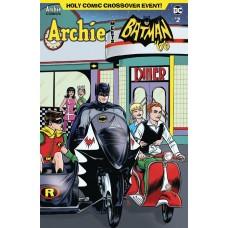 ARCHIE MEETS BATMAN 66 #2 CVR A ALLRED