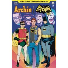 ARCHIE MEETS BATMAN 66 #2 CVR E TORRES & FITZPATRICK