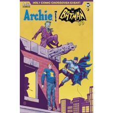ARCHIE MEETS BATMAN 66 #2 CVR F WALSH