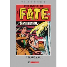 PRE CODE CLASSICS HAND OF FATE HC VOL 01