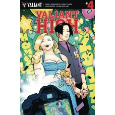 VALIANT HIGH #4 (OF 4) CVR A LAFUENTE