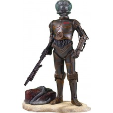 SW COLLECTORS GALLERY 4-LOM 9IN STATUE (Net)