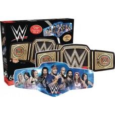 WWE 2 SIDED SHAPED JIGSAW PUZZLE