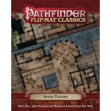 PATHFINDER FLIP MAT CLASSICS SEEDY TAVERN