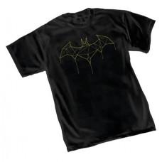 BATMAN VECTOR SYMBOL T/S MED