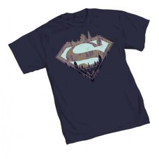 SUPERMAN CITY SYMBOL T/S MED