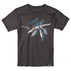 ROBOTECH MINIMAL BLACK T/S XXL