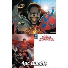 BATMAN SUPERMAN #1 REG & VARIANT 4PC BUNDLE