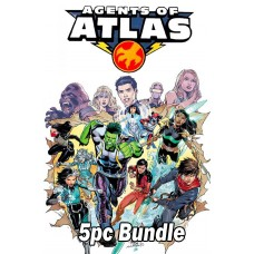 AGENTS OF ATLAS #1 REG AND VARIANT 5PC BUNDLE @A