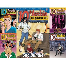 ARCHIE MARRIED LIFE 10 YEARS LATER #1 CVR A B C D E 5PC BUNDLE @A