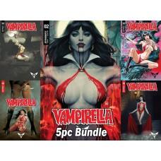 VAMPIRELLA #2 CVR A B C D E 5PC BUNDLE