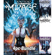 DOCTOR MIRAGE #1 (OF 5) CVR A B C E 4PC BUNDLE
