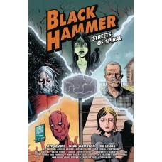 BLACK HAMMER STREETS OF SPIRAL TP (C: 0-1-2) @D
