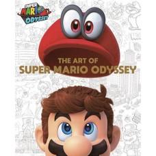 SUPER MARIO ART OF SUPER MARIO ODYSSEY HC (C: 1-1-2) @D