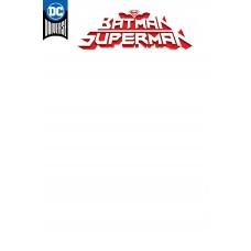 BATMAN SUPERMAN #1 BLANK VARIANT @D