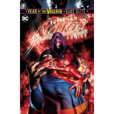 ACTION COMICS #1014 BATTLE DAMAGE CVR YOTV DARK GIFTS