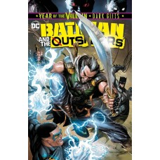 BATMAN AND THE OUTSIDERS #4 BATTLE DAMAGE CVR YOTV DARK GIFTS @D