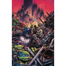 BATMAN TEENAGE MUTANT NINJA TURTLES III #4 (OF 6) VARIANT @D