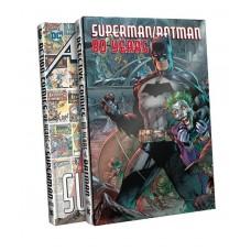 SUPERMAN BATMAN 80 YEARS SLIPCASE SET HC @D