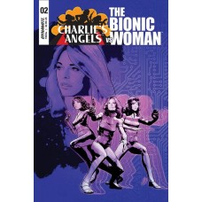 CHARLIES ANGELS VS BIONIC WOMAN #2 CVR A STAGGS @D