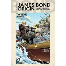 JAMES BOND ORIGIN #12 CVR B KOTZ @D