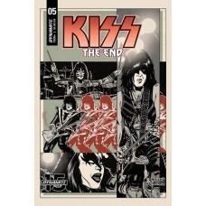 KISS END #5 CVR B FORNES