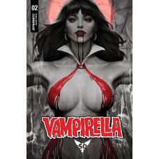 VAMPIRELLA #2 LAU RARE BLOOD MOON VARIANT @F