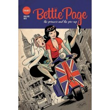 BETTIE PAGE PRINCESS & THE PINUP TP @D