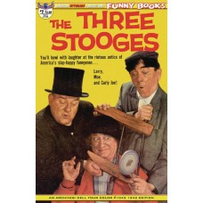 THREE STOOGES FOUR COLOR 1942 #1 MAIN CVR