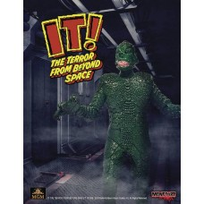 IT TERROR FROM BEYOND SPACE GREEN 3-3/4IN RETRO AF (Net) (C: @J