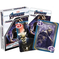 MARVEL AVENGERS ENDGAME THANOS PLAYING CARDS (C: 1-1-2) @F